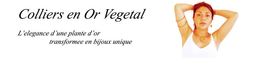 Bijoux or-vegetal Colliers tour de cou rigide et semi rigide